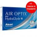 Air Optix plus HydraGlyde 3+1