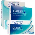 Dailies Aqua Comfort Plus 30 и 90 шт